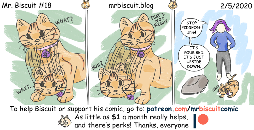 Mr. Biscuit #18: To Pigeon