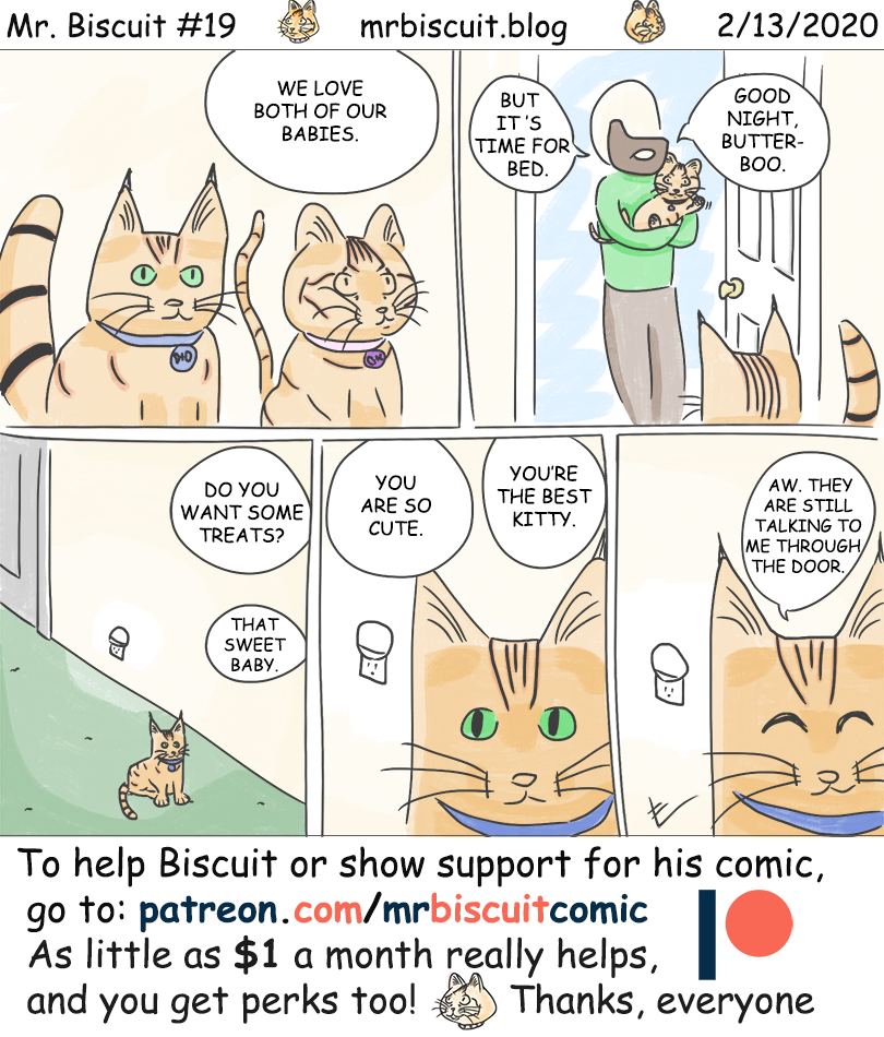 Mr. Biscuit Comic #19: Equally