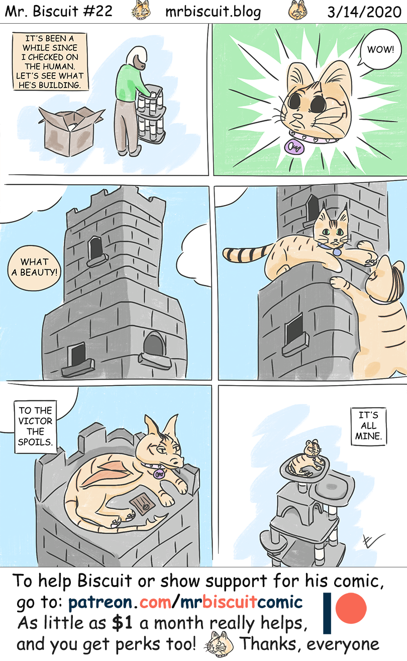 Mr. Biscuit Comic #22: The Lonely Tower