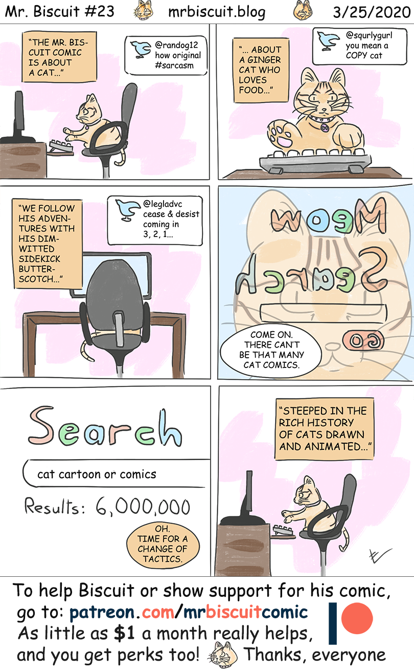 The Mr. Biscuit Comic #23: Inspiration