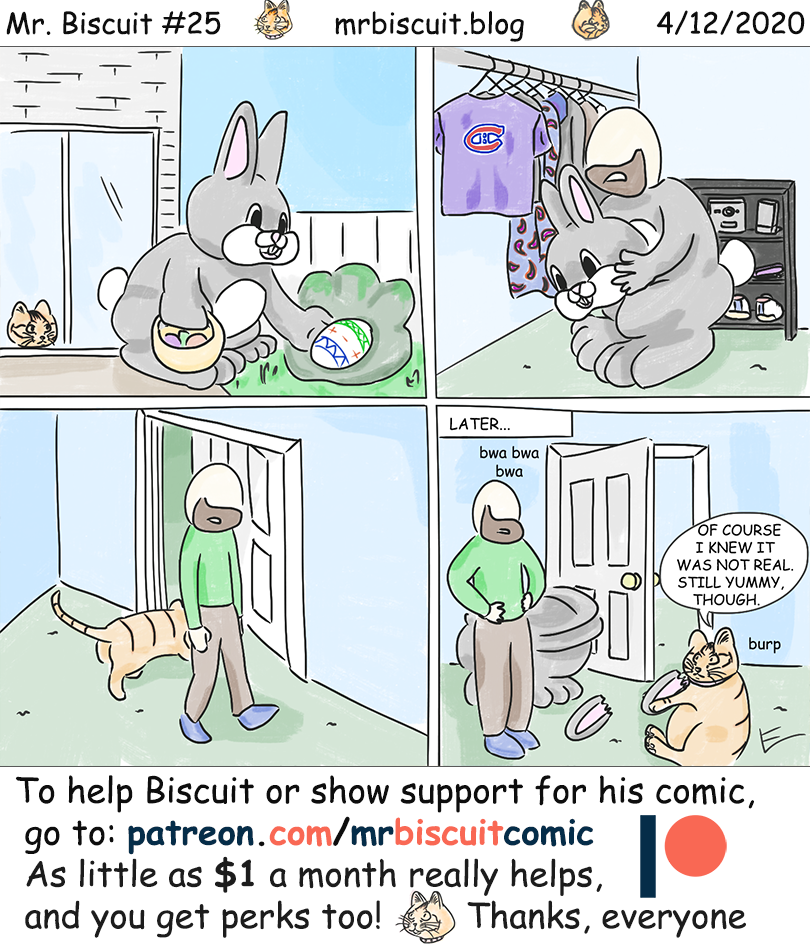 Mr. Biscuit #25: Happy Easter!