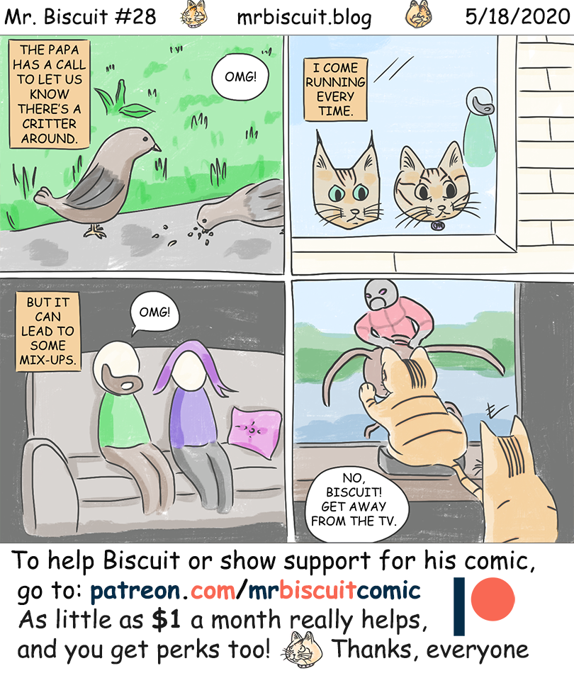 The Mr. Biscuit Comic #28: Critter Alert!