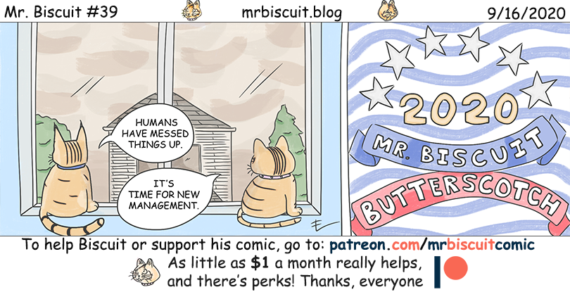 Mr. Biscuit #39: Yes We Can
